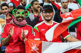 دیدار تیمهای فوتبال ایران و عمان