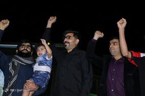 گلبانگ الله اکبر و نورافشانی در شب چهلمین سالگرد پیروزی انقلاب - بندرعباس
