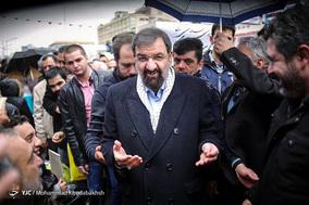 حضور سردار دکتر محسن رضایی دبیر مجمع تشخیص مصلحت نظام در جشن ۲۲ بهمن چهل سالگی