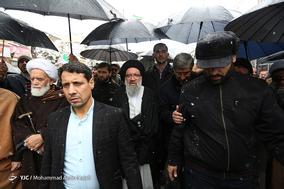 حضور  آیتالله خاتمی امام جمعه تهران در جشن ۲۲ بهمن چهل سالگی شهر همدان