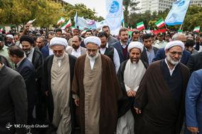 حضور حجت الاسلام محمدجعفر منتظری دادستان کل کشور در جشن ۲۲ بهمن چهل سالگی جزیره کیش