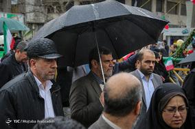حضور قاضی ابوالقاسم صلواتی در جشن ۲۲ بهمن چهل سالگی