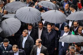 حضور اسحاق جهانگیری معاون اول رئیس جمهور در جشن ۲۲ بهمن چهل سالگی شهر شیراز