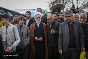 حضور حجت الاسلام محسنی اژه ای سخنگوی قوه قضائیه در جشن ۲۲ بهمن چهل سالگی