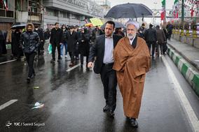 حضور مسؤولین و شخصیت ها در جشن ۲۲ بهمن چهل سالگی