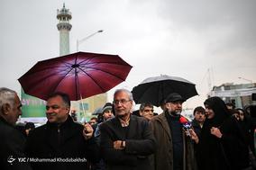 حضور علی ربیعی وزیر سابق کار و رفاه در جشن ۲۲ بهمن چهل سالگی