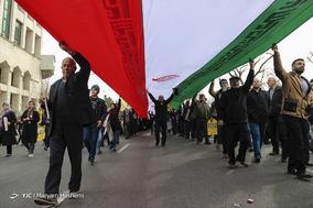 جشن ۲۲ بهمن چهل سالگی در شهر کرج