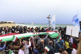 جشن ۲۲ بهمن چهل سالگی در جزیره کیش