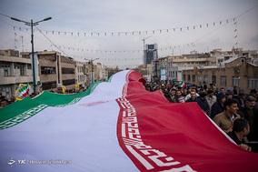 جشن ۲۲ بهمن چهل سالگی در شهر قزوین