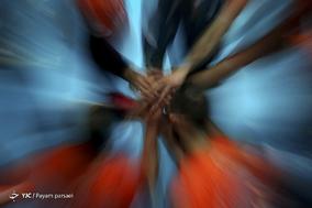 دیدار تیمهای والیبال سایپا و شهروند اراک