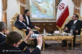 دیدار وزیر امورخارجه جمهوری آذربایجان با علی شمخانی