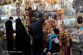 بازار شیراز در آستانه سال نو