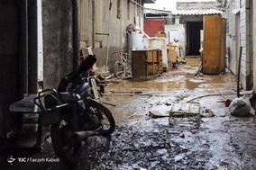 خسارات سیل در گنبد کاووس