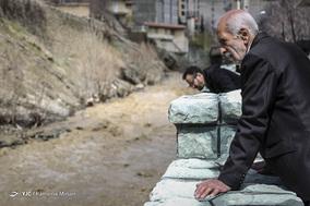 خسارات سیلاب در سولقان و کن