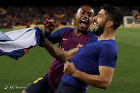 لالیگای اسپانیا/ بارسلونا ۲ - آتلتیکو مادرید ۰
