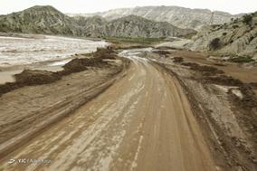 بازگشایی جاده سیلزده معمولان