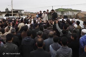 بازدید رئیس قوه قضاییه از مناطق سیل زده استان گلستان