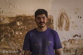 مردانِ گِلی ـ مجموعه از پرتره گروههای جهادی فعال در پاکسازی سیل لرستان