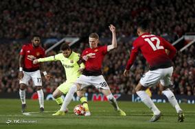 لیگ قهرمانان اروپا/ منچستر یونایتد ۰ ـ. بارسلونا ۱