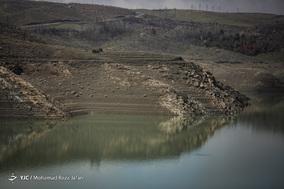 وضعیت سد زاینده رود پس از بارش های اخیر