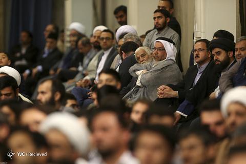 دیدار شرکت کنندگان مسابقات بینالمللی قرآن با رهبر معظم انقلاب