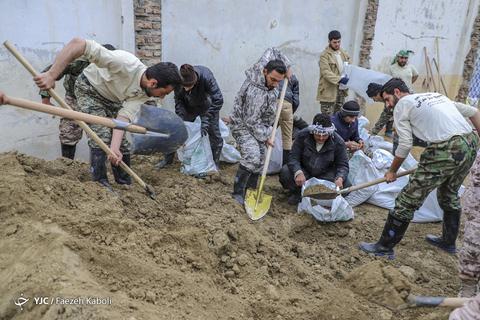 سیل جهادگران در گلستان