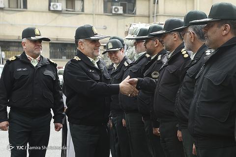 طرح رعد ۲۴ پلیس پیشگیری تهران