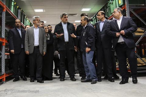 مراسم افتتاح ۲۰ پروژه شهری در منطقه ۶ تهران