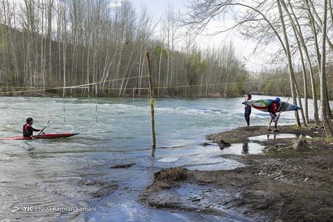 اردوی تیم ملی بانوان قایقرانی