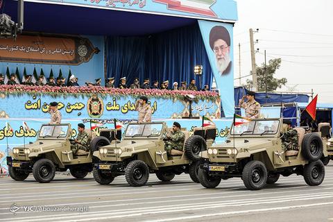رژه روز ارتش در پایتخت