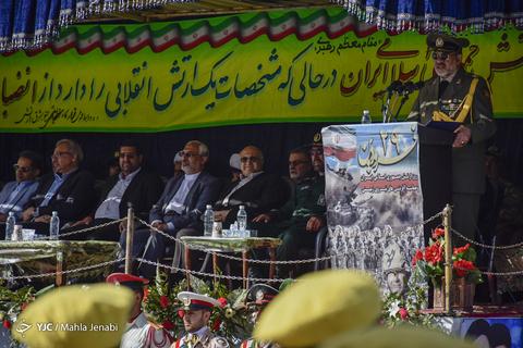 رژه روز ارتش در کرمان
