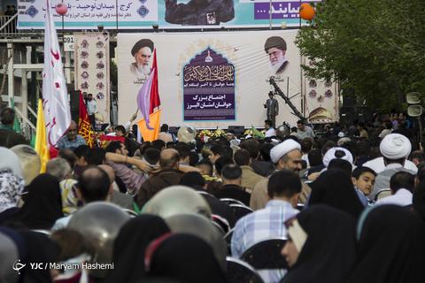 اجتماع بزرگ جوانان استان البرز وجشن روز جوان به مناسبت ولادت حضرت علی اکبر (ع)