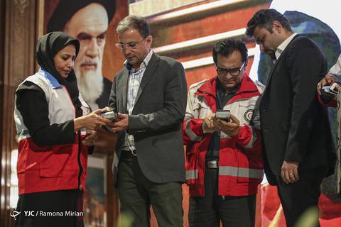 گردهمایی هنرمندان و ورزشکاران به بهانه کمک به سیلزدگان در اکران خصوصی فیلم سینمایی «غلامرضا تختی»