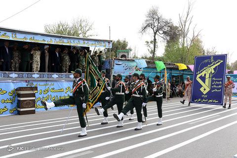 رژه روز ارتش در شیراز
