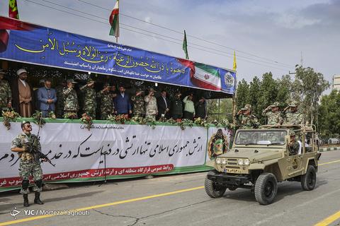 رژه روز ارتش در اهواز