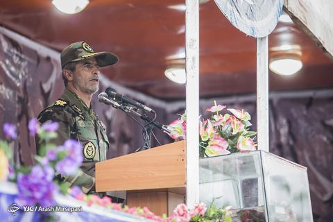 رژه خدمت ارتش در پلدختر