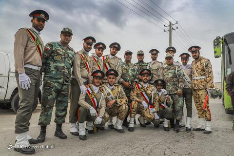 رژه خدمت ارتش در آققلا