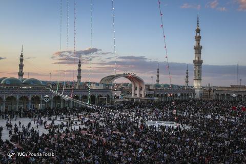مسجد مقدس جمکران در آستانه نیمه شعبان، میلاد حضرت امام مهدی(عج)