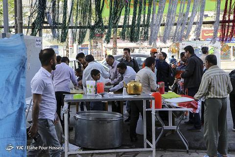 جشن نیمه شعبان در شیراز