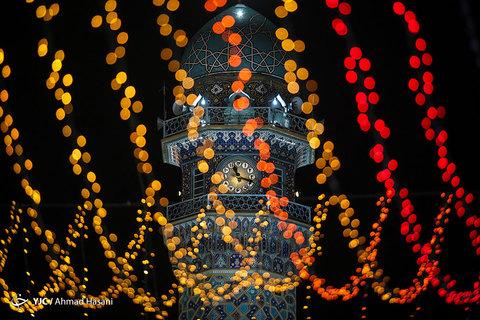 جشن نیمه شعبان در مشهد مقدس و حرم مطهر رضوی