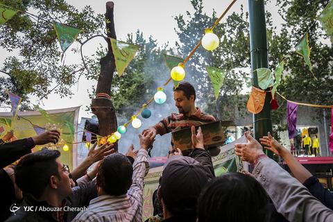 جشن نیمه شعبان در تهران