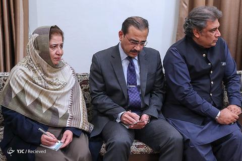 دیدار نخست وزیر پاکستان با رهبر انقلاب