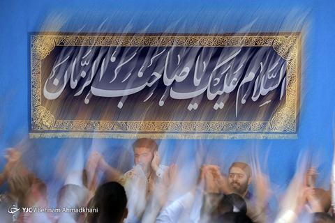 مراسم جشن میلاد امام زمان (عج) در آستان مقدس امامزاده قاضی الصابر (ع)