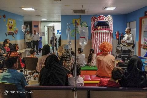 جشن نیمه شعبان در بیمارستان کودکان بهرامی