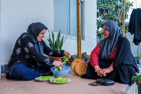 اولین افطار مهمان شهید مدافع حرم