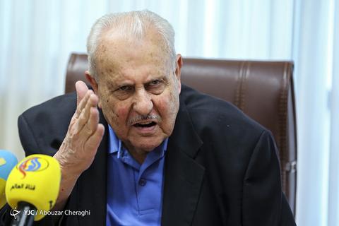 صلاح زواوی، سفیر فلسطین در نشست خبری سالگرد روز نکبت