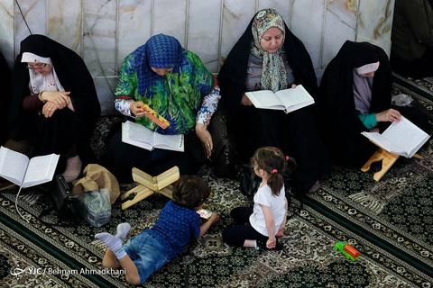 حضور همسر و دختر مرحوم آیت الله هاشمی در راهپیمایی ۲۲ بهمن +عکس