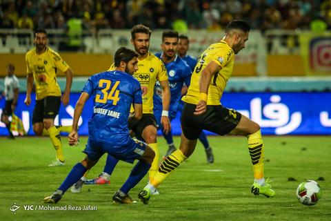 لیگ برتر فوتبال/ سپاهان اصفهان - استقلال خوزستان