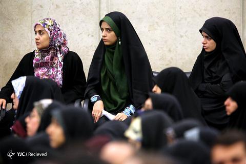 دیدار رمضانی دانشجویان با رهبر انقلاب