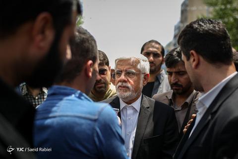 حضور محمدرضا عارف رئیس فراکسیون امید مجلس شورای اسلامی در راهپیمایی روز جهانی قدس ۹۸ تهران